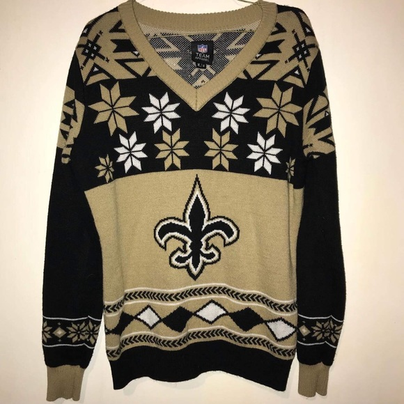 32fc6c8a992 Saints Ugly Sweater NFL Apparel